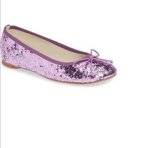Big kids, girls glitter ballet flats